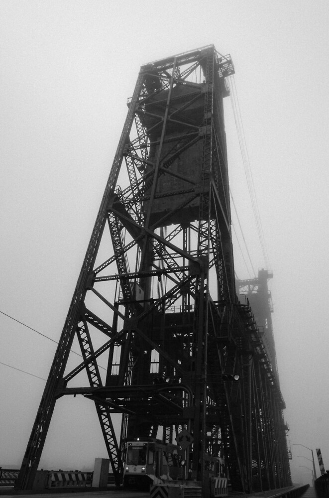 Steel Bridge, Portland by Cameron Booth