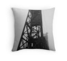 Steel Bridge, Portland Throw Pillow