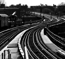 7 Train at 61st by Larry McFarland