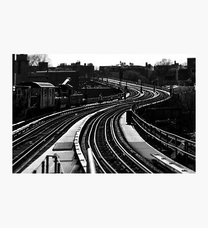 7 Train at 61st Photographic Print