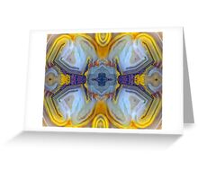 X-Wing (Laguna Lace Agate) Greeting Card