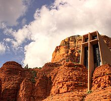 Chapel Of The Holy Cross by Cynthia Broomfield