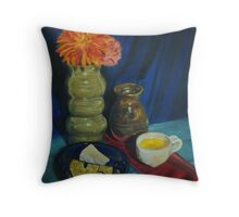 An Afternoon Snack Throw Pillow