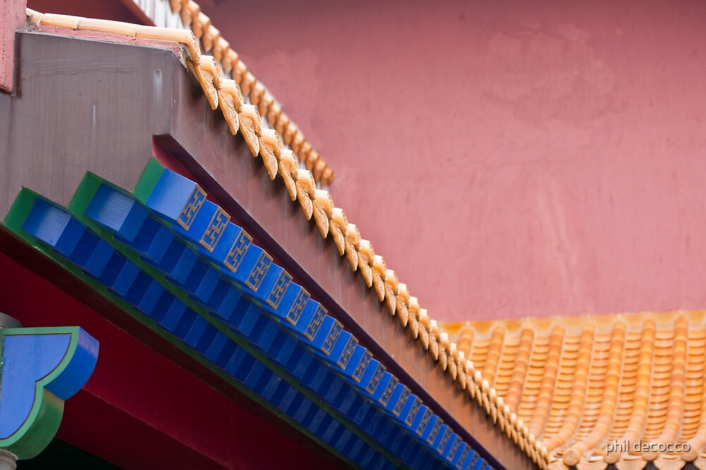 Forbidden City Architectural Detail by phil decocco