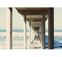 Ocean Beach Fishing Pier, San Diego Photographic Print