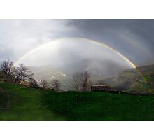 Magnificent rainbow Photographic Print