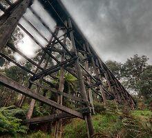 Ye Olde Trestle Bridge by Sean Farrow