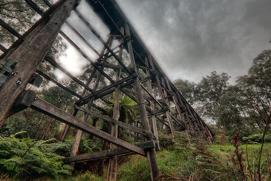 Ye Olde Trestle Bridge by Sean Farrow