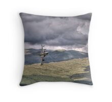 HDR Tornado GR4 Low level pass of CAD West Throw Pillow