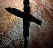 Symbol Of Salvation - Burnt Cross by Brian Walther
