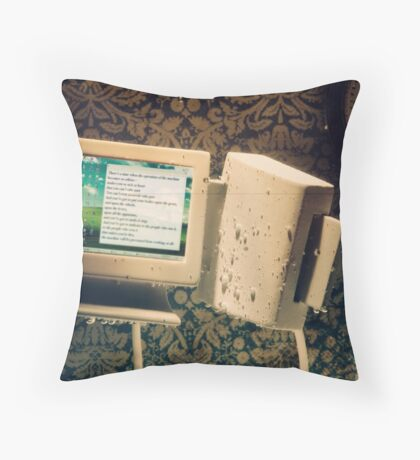 The Mechanics of Oppression Throw Pillow