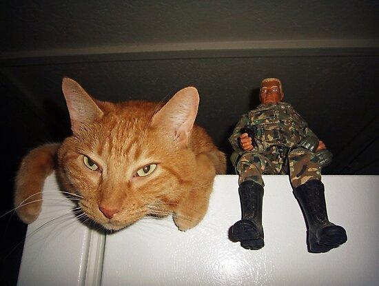 Frankie & Sgt. Major Joe by Susan S. Kline