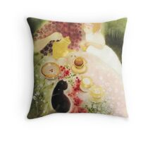 one sunny day  * special order prints: tokikoandersonart@gmail.com Throw Pillow