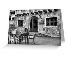 Bistro Greeting Card