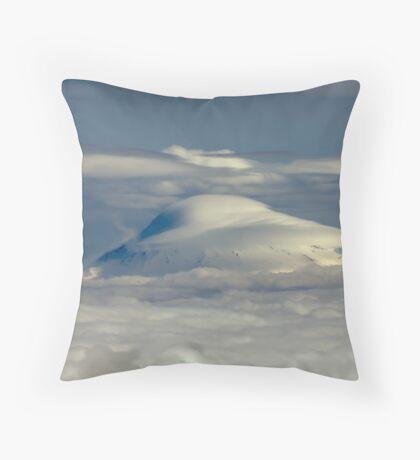 Mt. Adams engulfed Throw Pillow