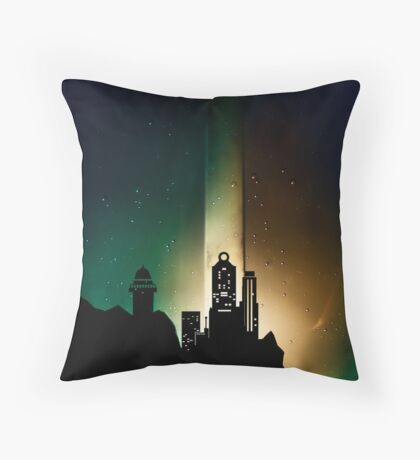 Distant Throw Pillow