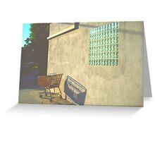 Shopping Cart - Burbank, CA Greeting Card