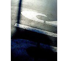 Asphalt - Burbank, CA Photographic Print