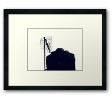 Roof Top Technique. Framed Print