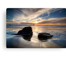 West Coast Sundown Canvas Print