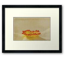La Jonquille Framed Print
