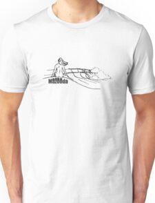 Mazooda_ChickWave_Black Unisex T-Shirt