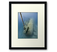 The wreck -Cedar Pride- Framed Print