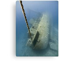 The wreck -Cedar Pride- Canvas Print