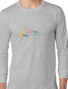 Mazooda_ChickWave_Rainbow Long Sleeve T-Shirt