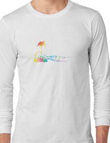 Mazooda_Island_Rainbow Long Sleeve T-Shirt