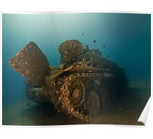 The Tank Wreck of Jordan Poster
