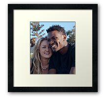 Carefree Lovers Framed Print
