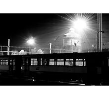 Night Station melancholia Photographic Print