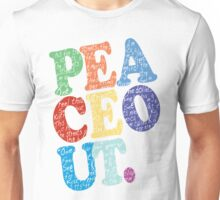 Peace Out (Dollar Day) Unisex T-Shirt
