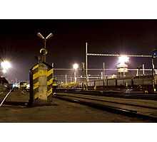 Silence on a railway-station Photographic Print