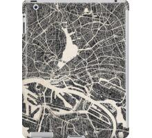 Hamburg map iPad Case/Skin