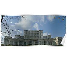 The Romanian Parliament - Casa Poporului Poster
