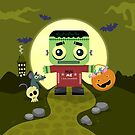 Frankie Goes to Halloween! by AnishaCreations