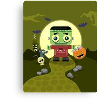 Frankie Goes to Halloween! Canvas Print