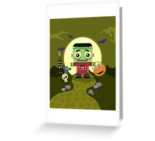 Frankie Goes to Halloween! Greeting Card