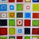 Cubes - Oil on canvas by Bruno Beach