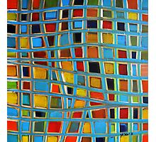 Abstract Cubes Photographic Print
