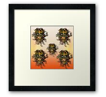 Past, present and future. Framed Print