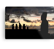 the last sun of 2010 - the guardians  Metal Print