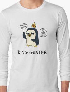 King Gunter (Adventure Time/Kendrick Lamar Mash Up) Long Sleeve T-Shirt