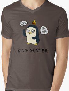 King Gunter (Adventure Time/Kendrick Lamar Mash Up) Mens V-Neck T-Shirt