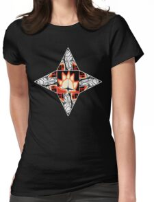 moon beam Womens Fitted T-Shirt
