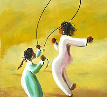 Children at Play by Marilyn Harris