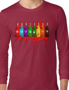 Perks all lined up and bloody Long Sleeve T-Shirt