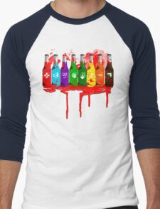 Perks all lined up and bloody Men's Baseball ¾ T-Shirt